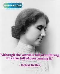 Helen Keller.....